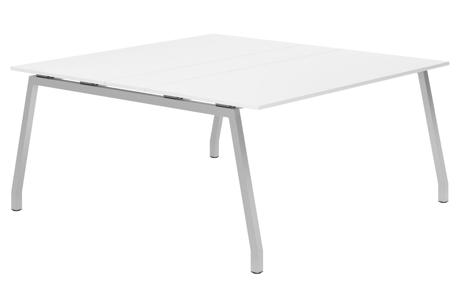 Campos A-Frame 6-8 Person Meeting Table (White)