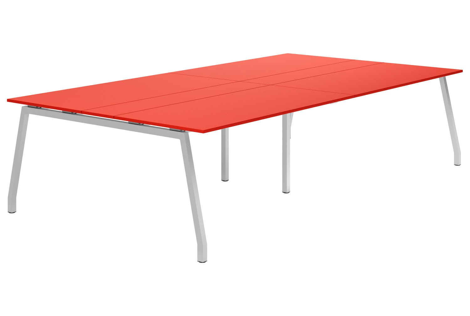 Campos A-Frame 10-12 Person Meeting Table (Red)