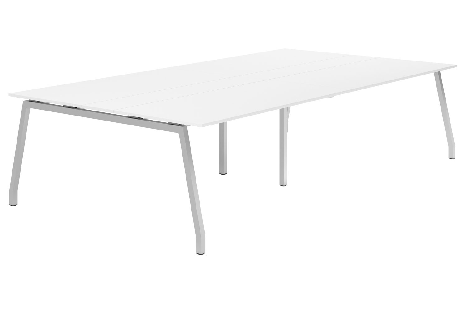Campos A-Frame 10-12 Person Meeting Table (White)