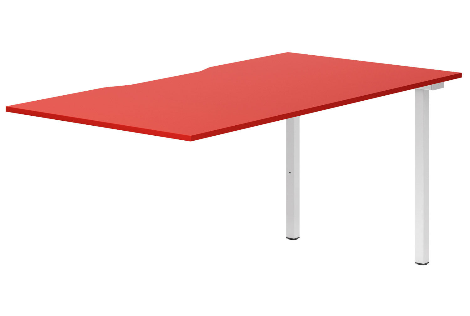 Campos Single Add-On Bench Desk (Red)