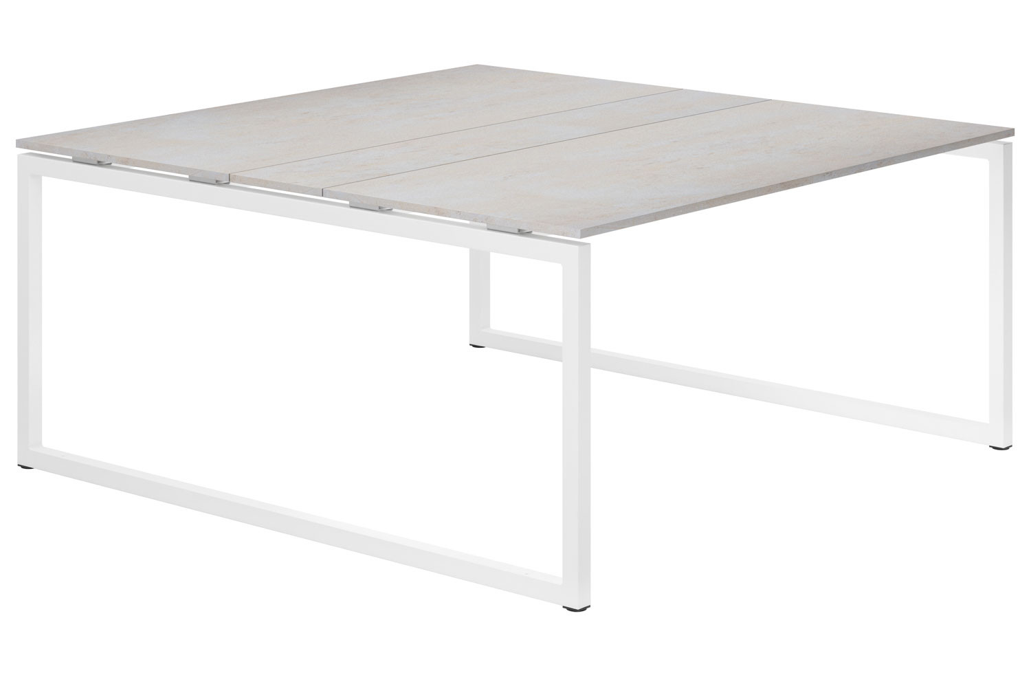 Lasso Hooped Leg 6-8 Person Meeting Table (Concrete)
