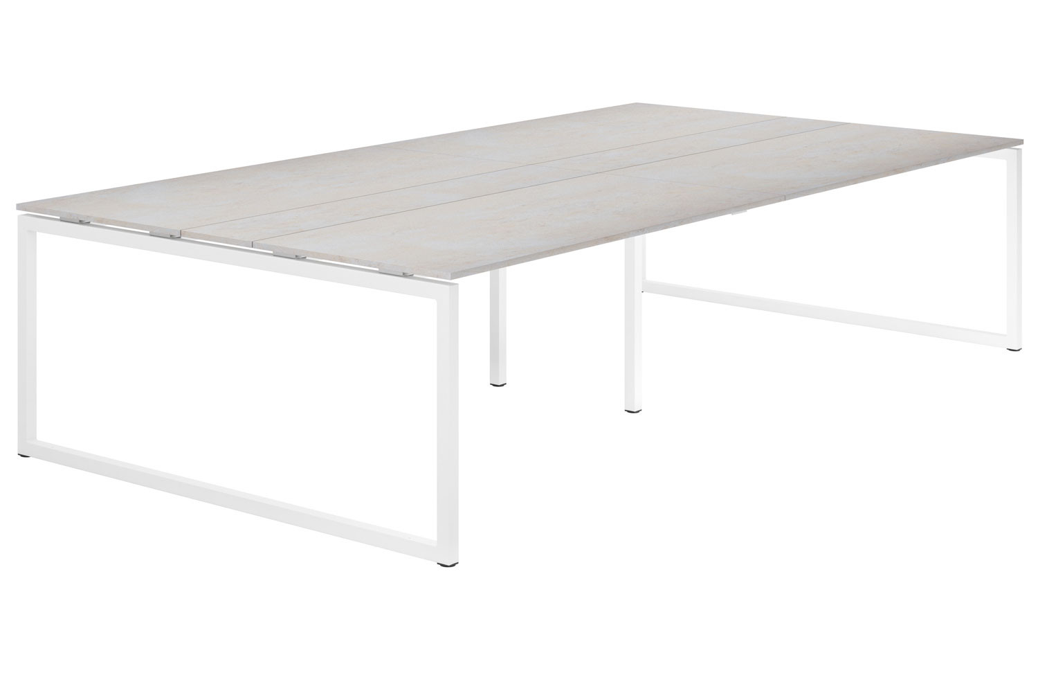 Lasso Hooped Leg 10-12 Person Meeting Table (Concrete)