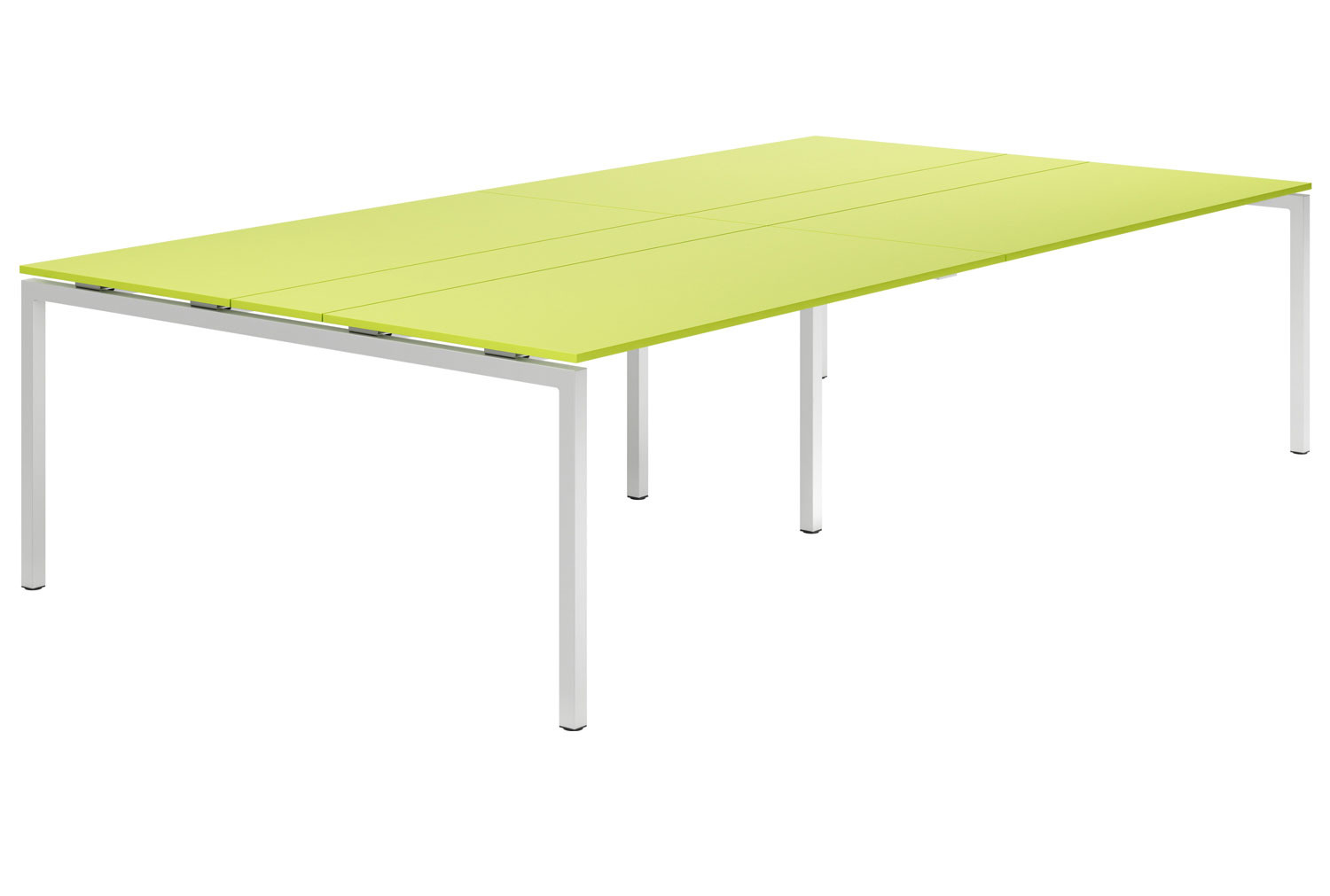 Campos H-Leg 10-12 Person Meeting Table (Green)