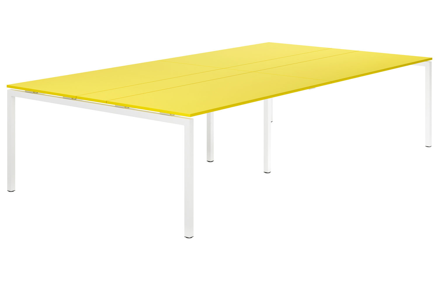 Campos H-Leg 10-12 Person Meeting Table (Yellow)