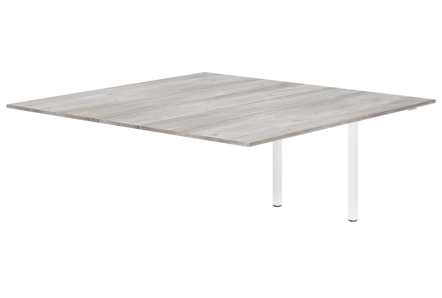 Lasso Meeting Table Add On Unit (Platinum Oak)