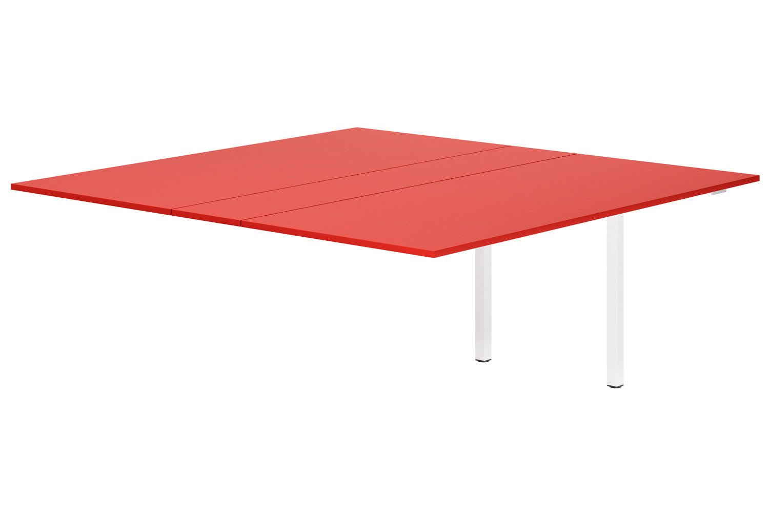 Campos Meeting Table Add On Unit (Red)