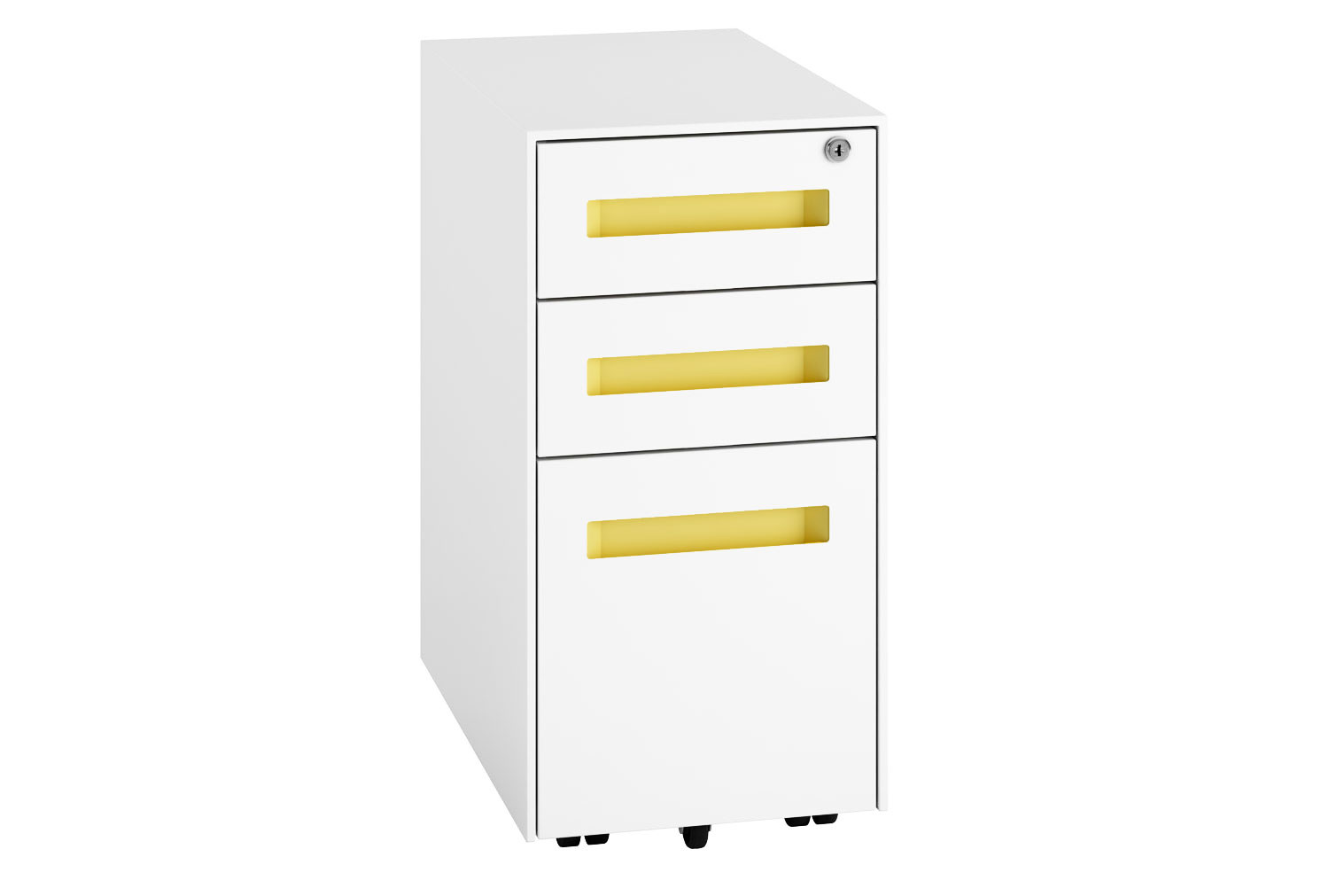 Campos Steel Narrow Pedestal (Yellow)