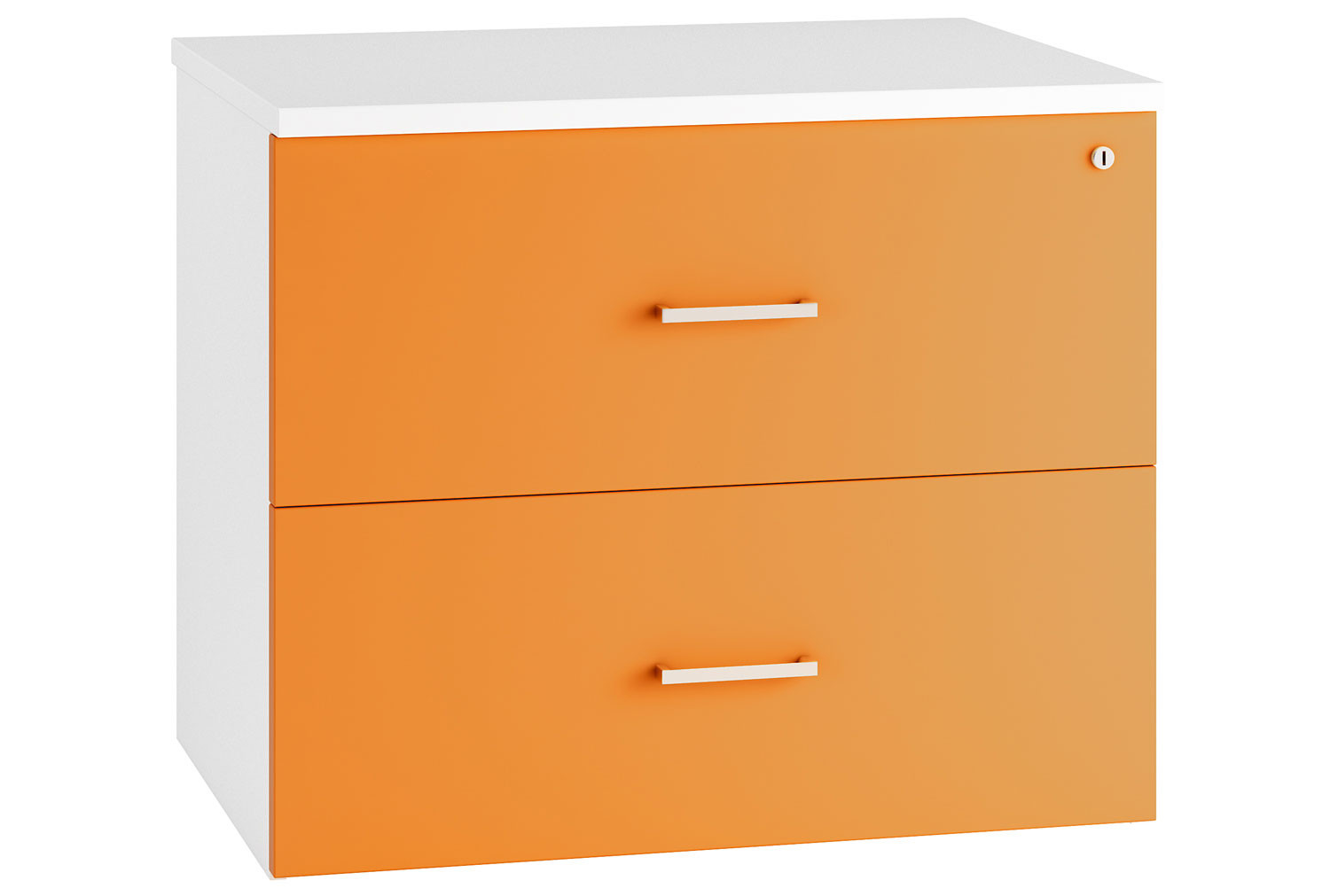 Solero Side Filing Cabinet (Orange)
