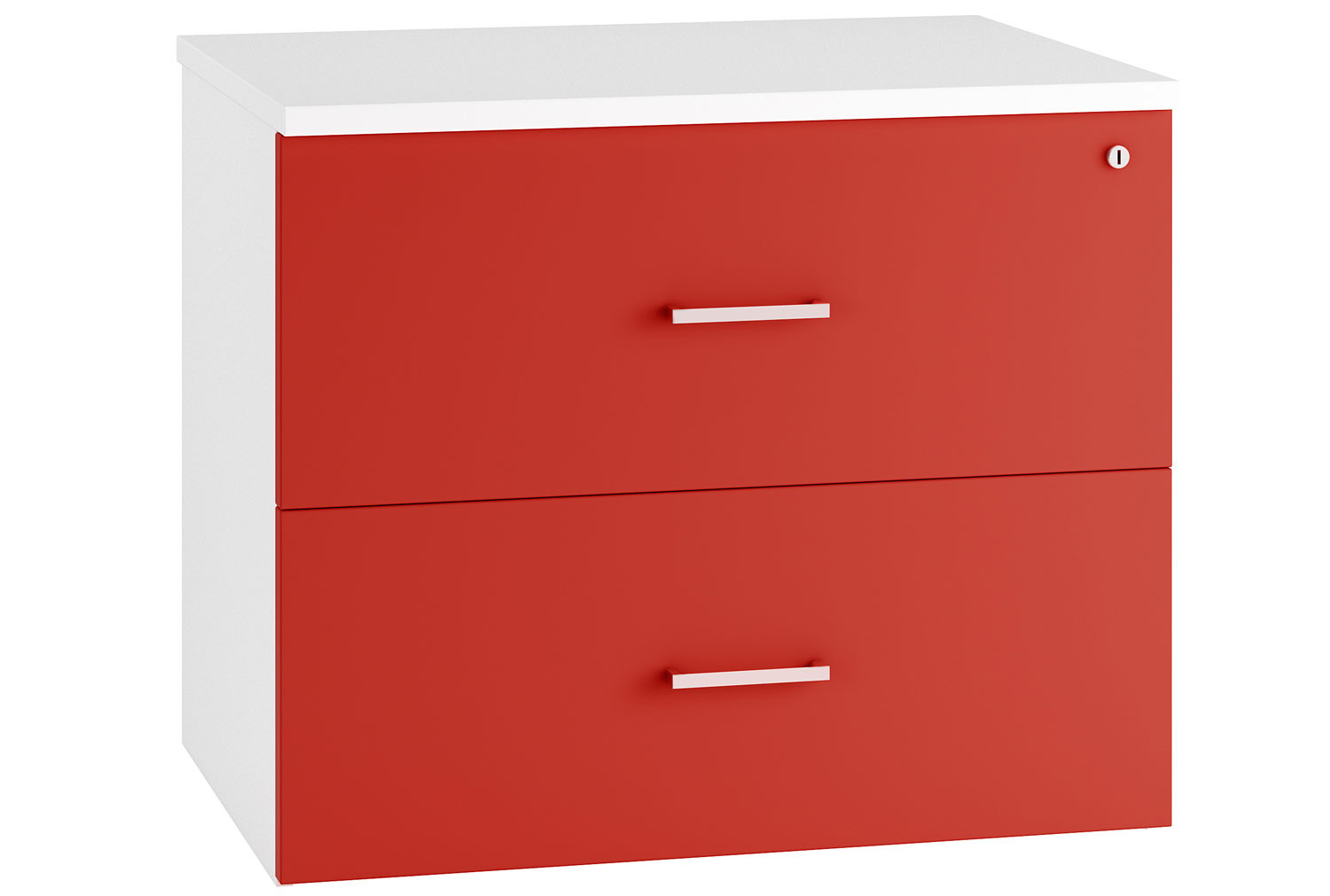 Solero Side Filing Cabinet (Red)