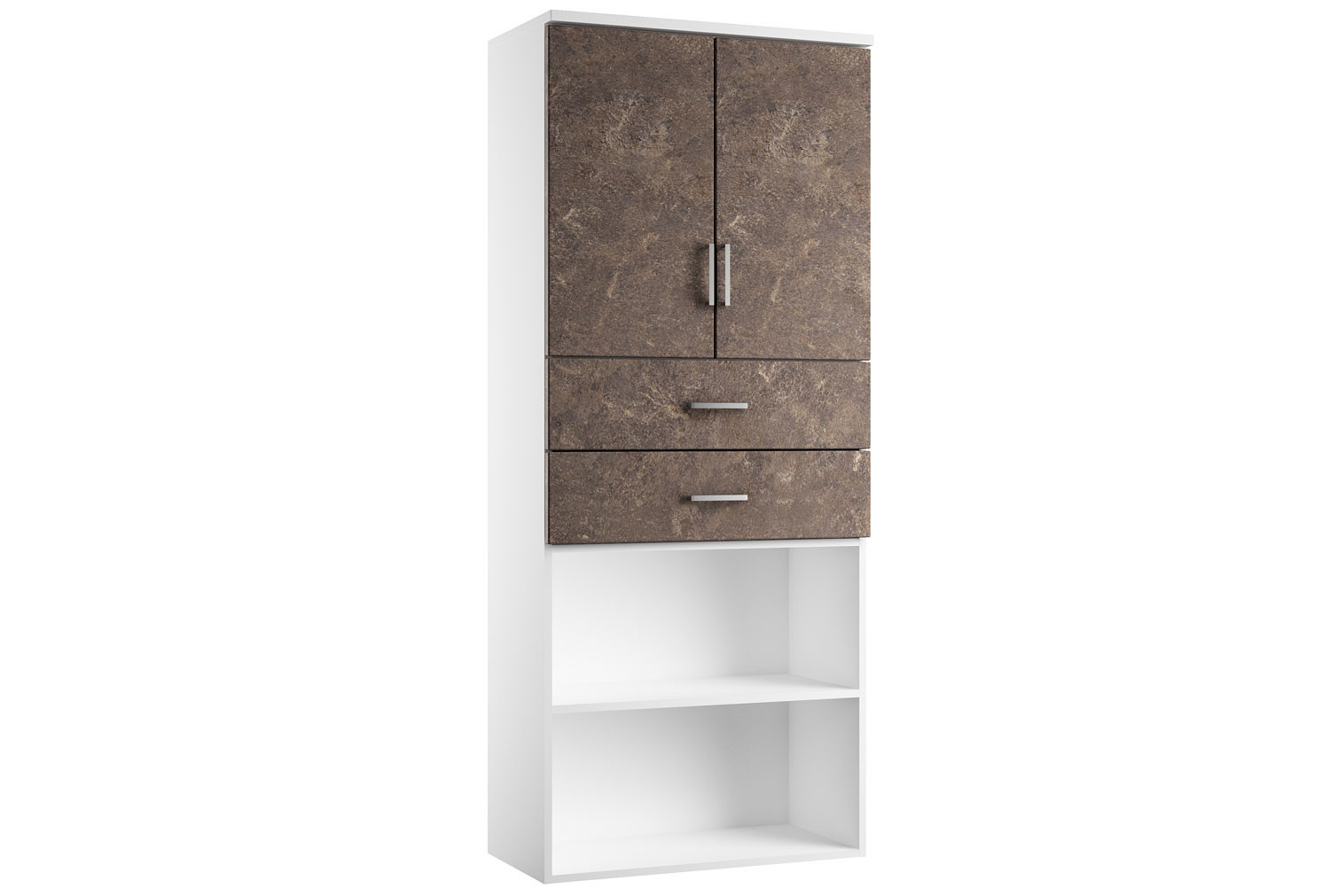 Next-Day Lasso Cupboard Combination 4 (Pitted Steel)
