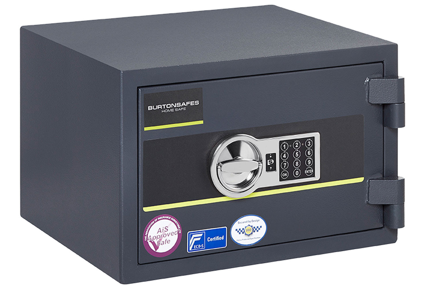 Burton Home Safe Size 2 Safe With Electronic Lock (21ltrs)