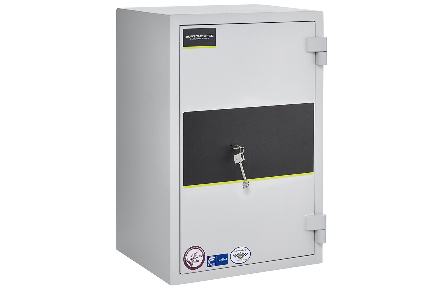 Burton Eurovault Aver Grade 0 Size 2 Safe With Key Lock (50ltrs)