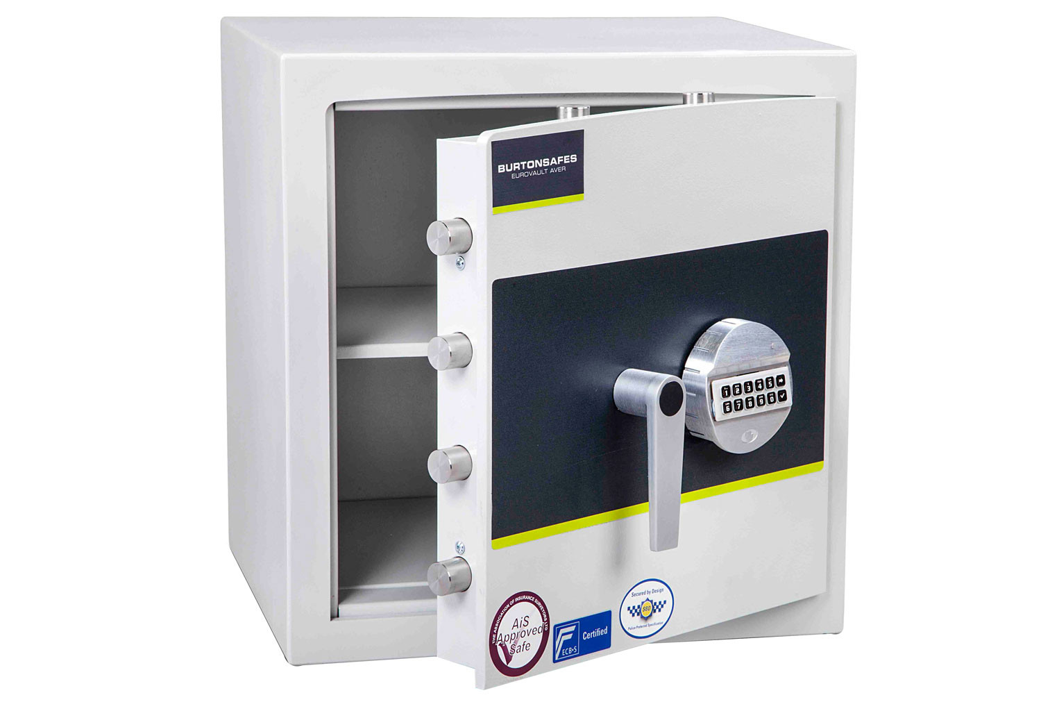 Burton Eurovault Aver Grade 1 Size 2 Safe With Electronic Lock (45ltrs)