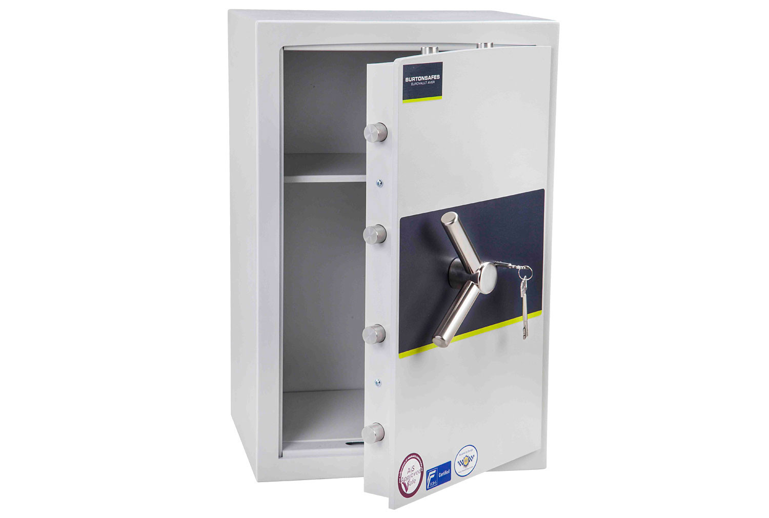 Burton Eurovault Aver Grade 1 Size 3 Safe With Key Lock (71ltrs)