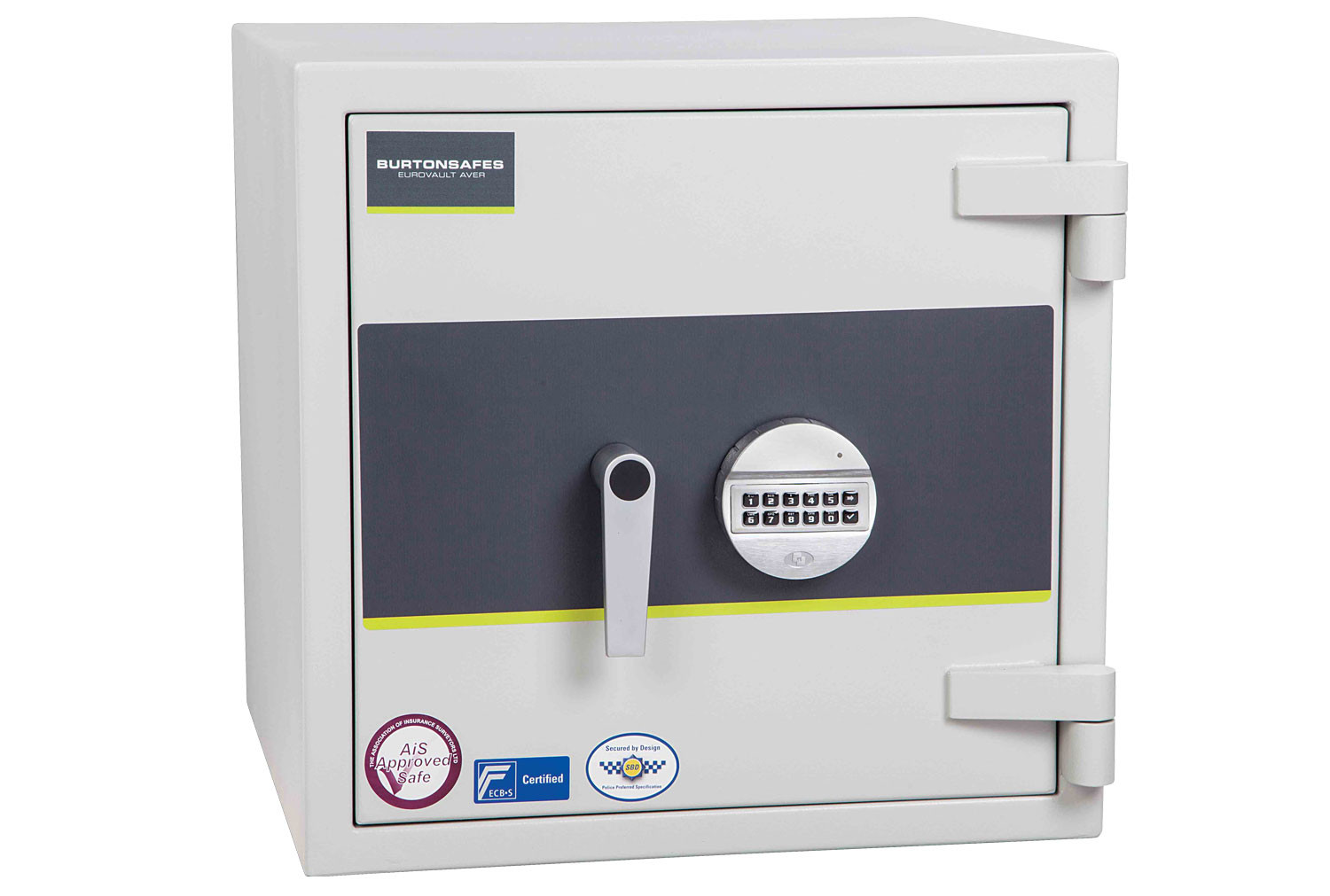 Burton Eurovault Aver Grade 2 Size 1 Safe With Electronic Lock (64ltrs)