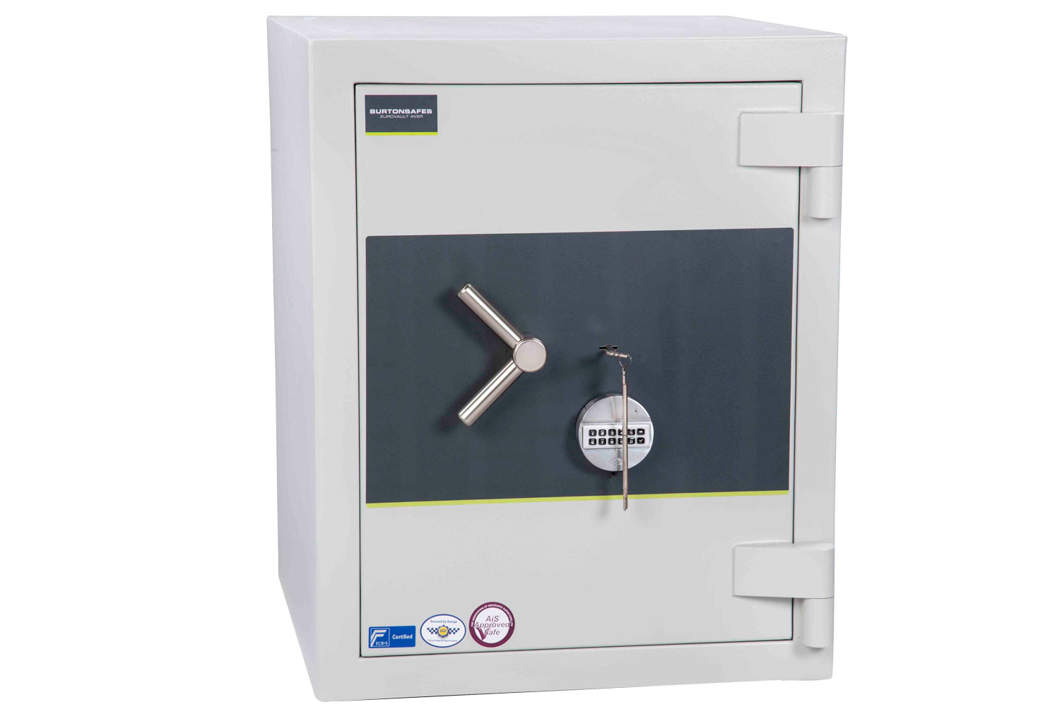 Burton Eurovault Aver Grade 5 Size 2 Safe With Dual Key And Electronic Lock (163ltrs)
