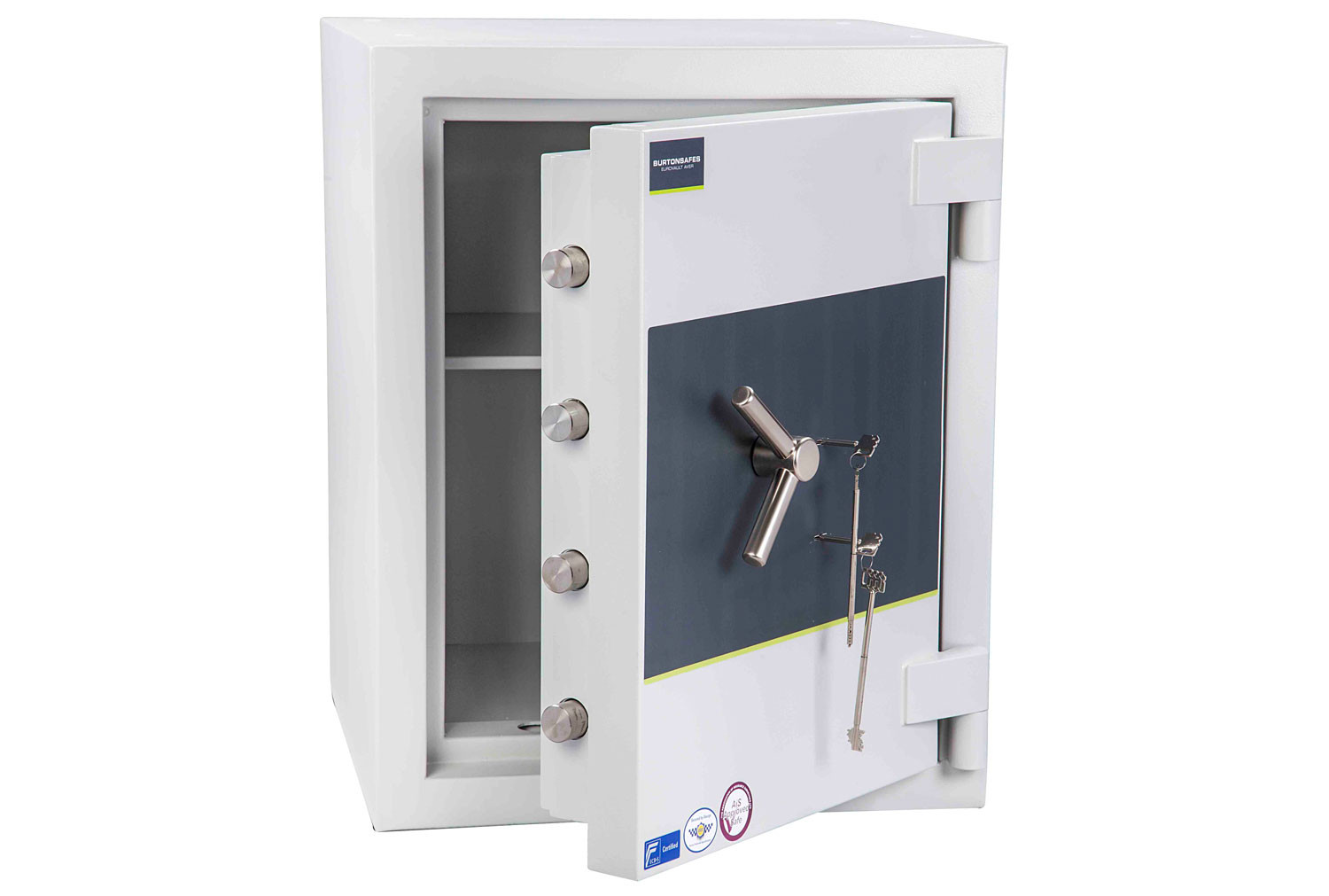 Burton Eurovault Aver Grade 5 Size 2 Safe With Dual Key Lock (163ltrs)