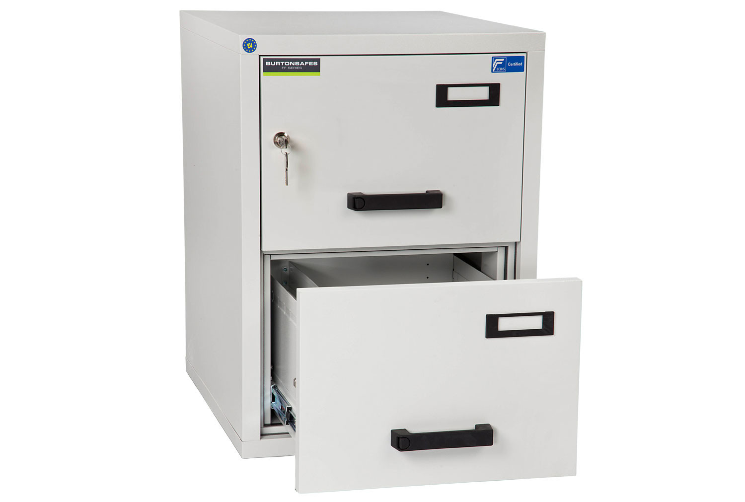 Burton Fire Resistant 2 Drawer Filing Cabinet