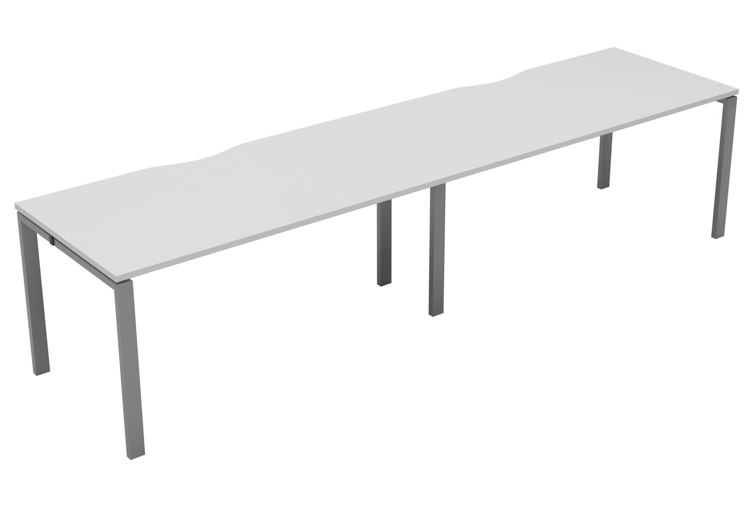 Fellow 2 Person Side By Side Bench Desk