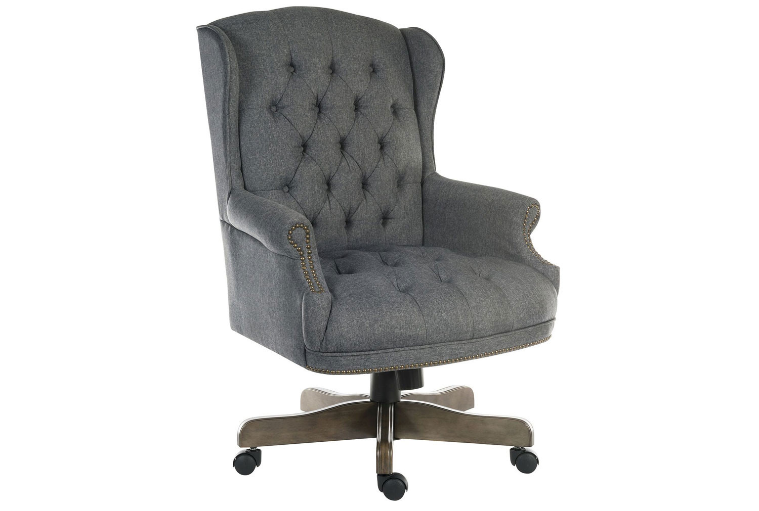 Picture of: Chairman Swivel Chair Grey Fabric Furniture At Work