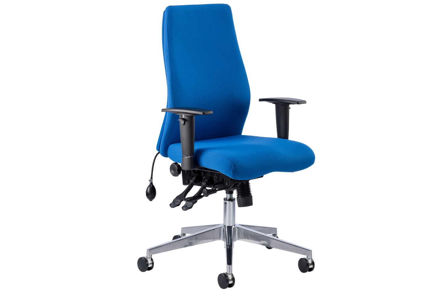 Next-Day Brechin High Back Fabric Executive Chair