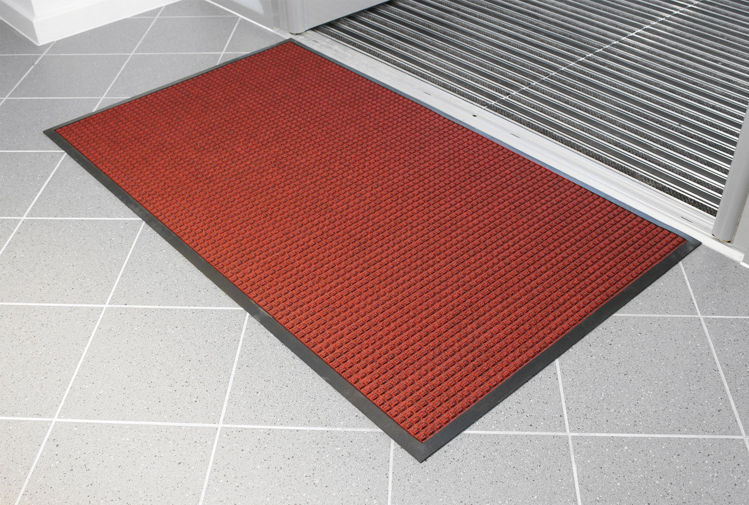 Superdry Heavy Duty Entrance Mat (Red)