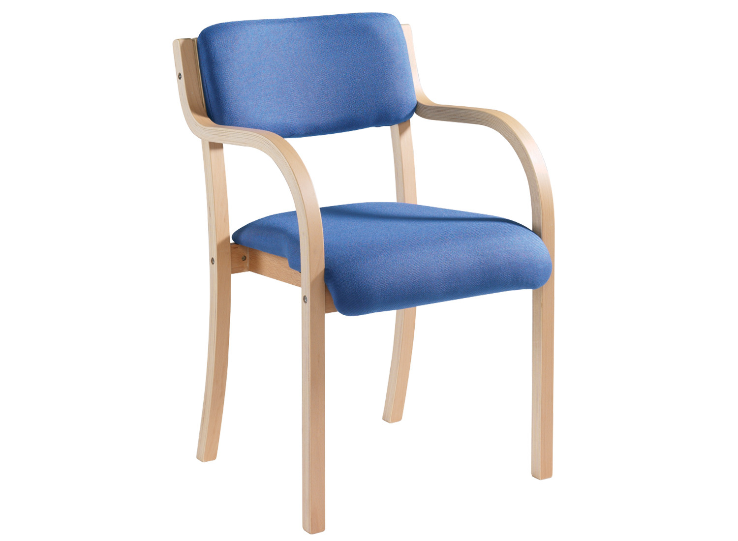 Harmony Wood Framed Stacking Armchair