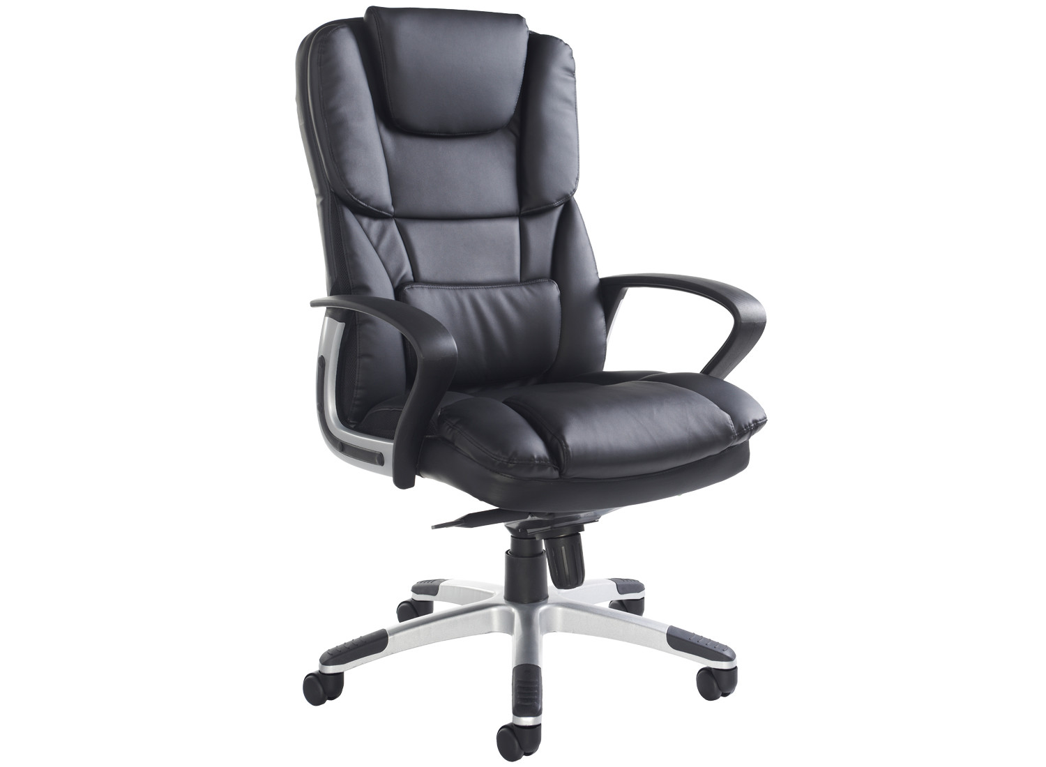 Grenero high back leather faced executive chair