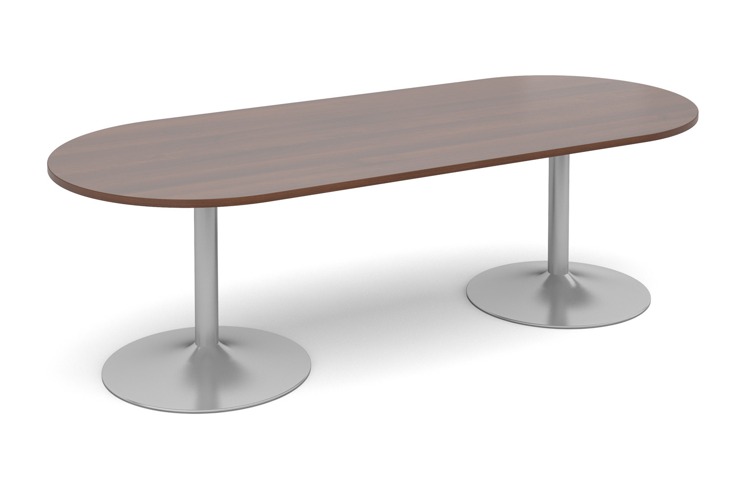 Trumpet Base D End Boardroom Table