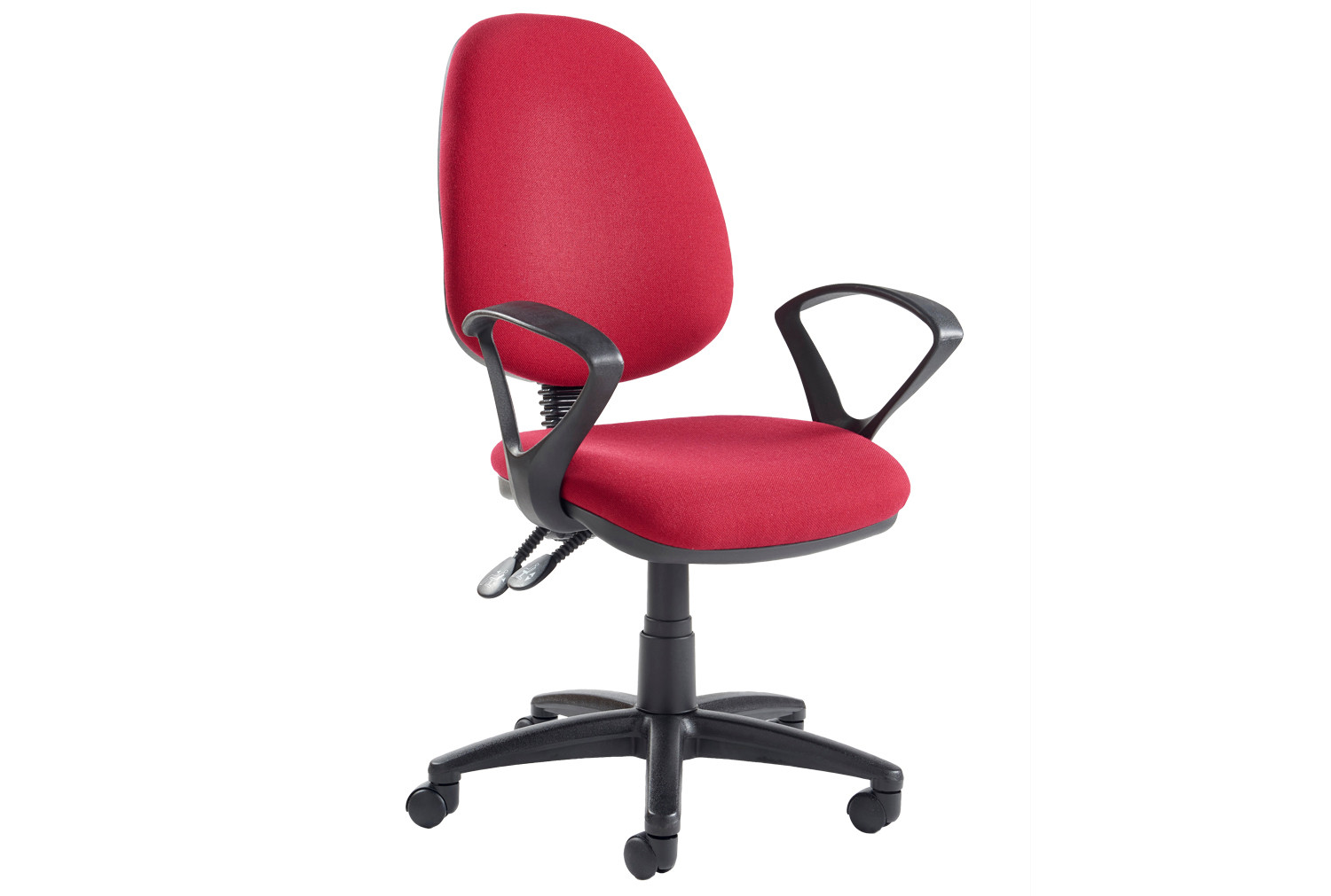 Vantage Deluxe Operator Chair With Fixed Arms