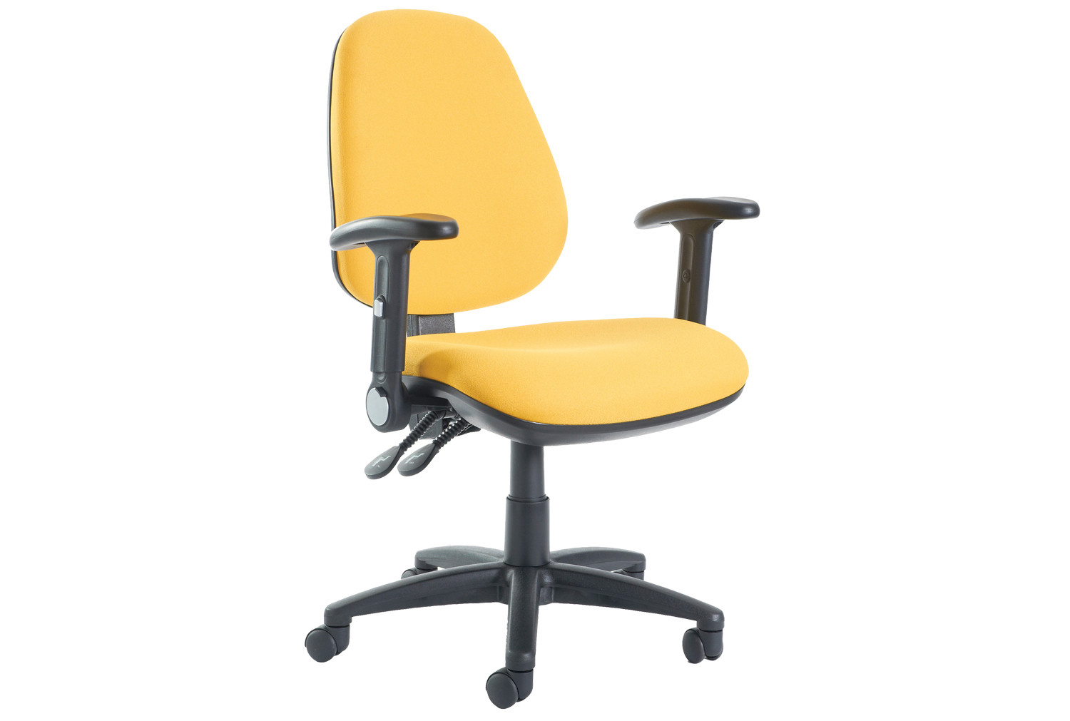 Gilmour High Back Operator Chair With Folding Arms