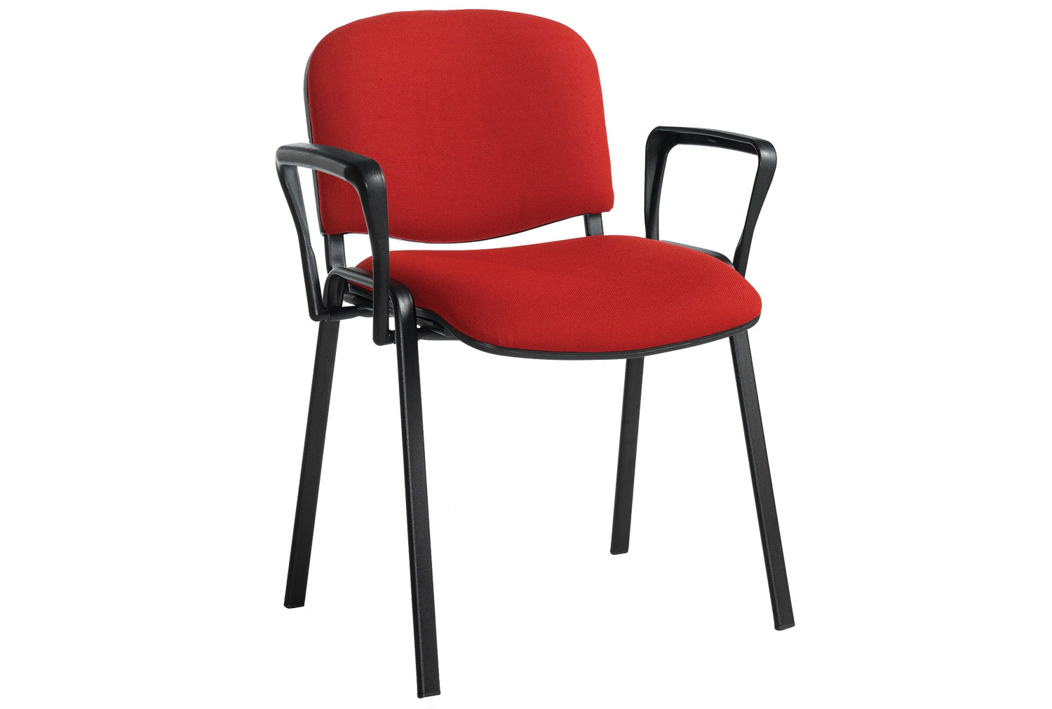 Volta Conference Chair With Arms (Black Frame)