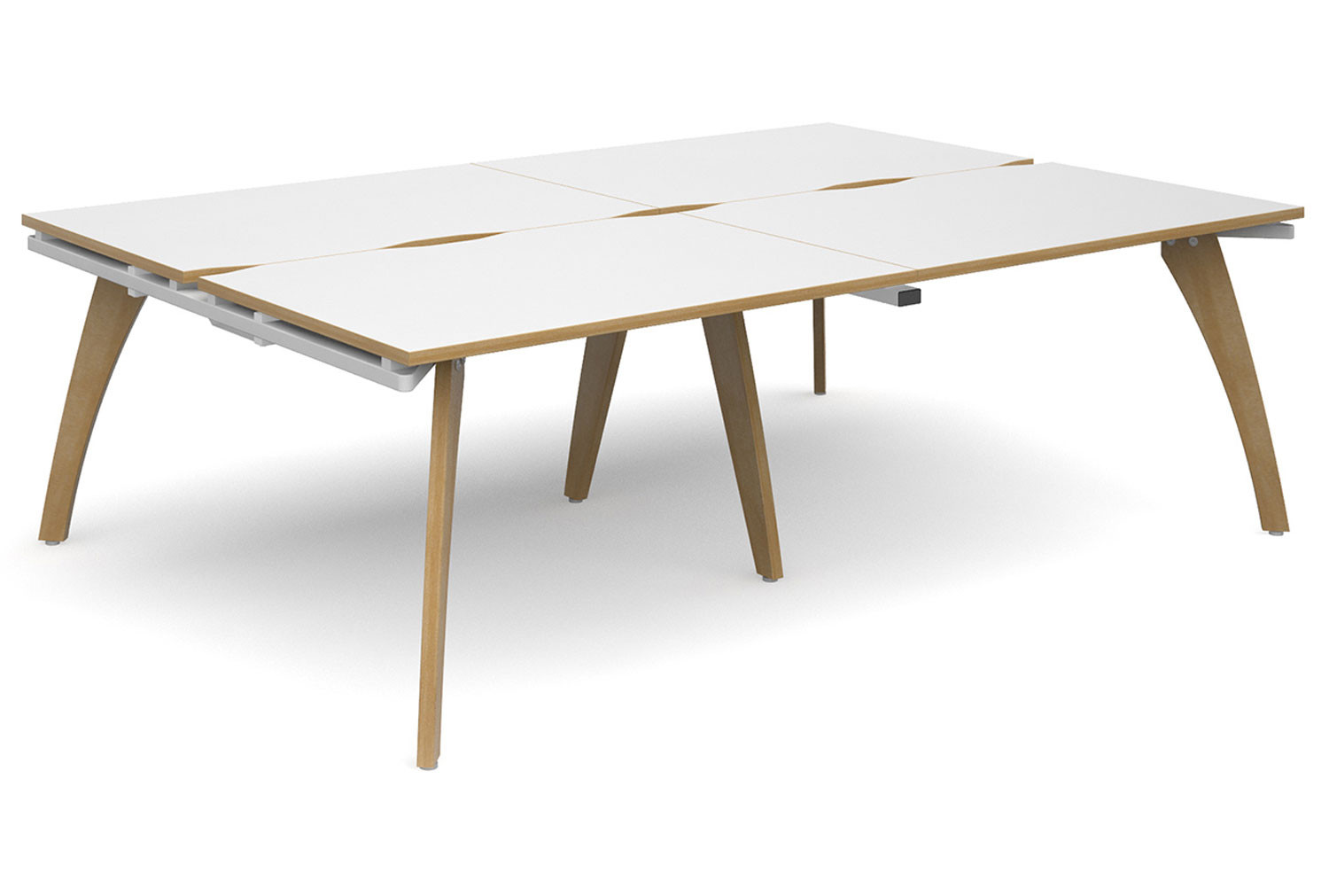Distill Double Back To Back Bench Desk