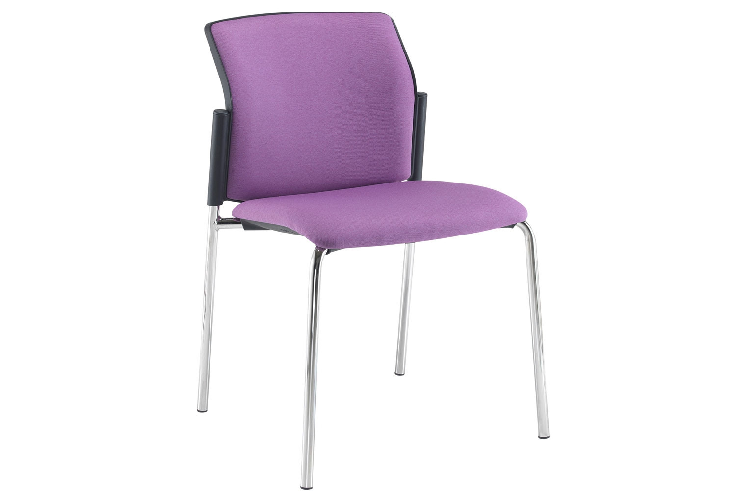 Yarra 4 Leg Fabric Stacking Chair No Arms