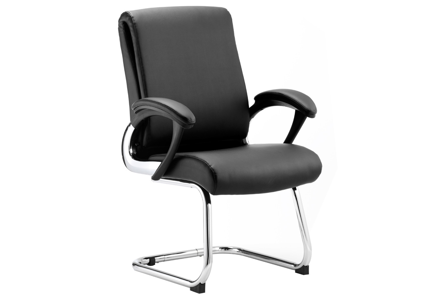Malvar Leather Faced Visitor Chair