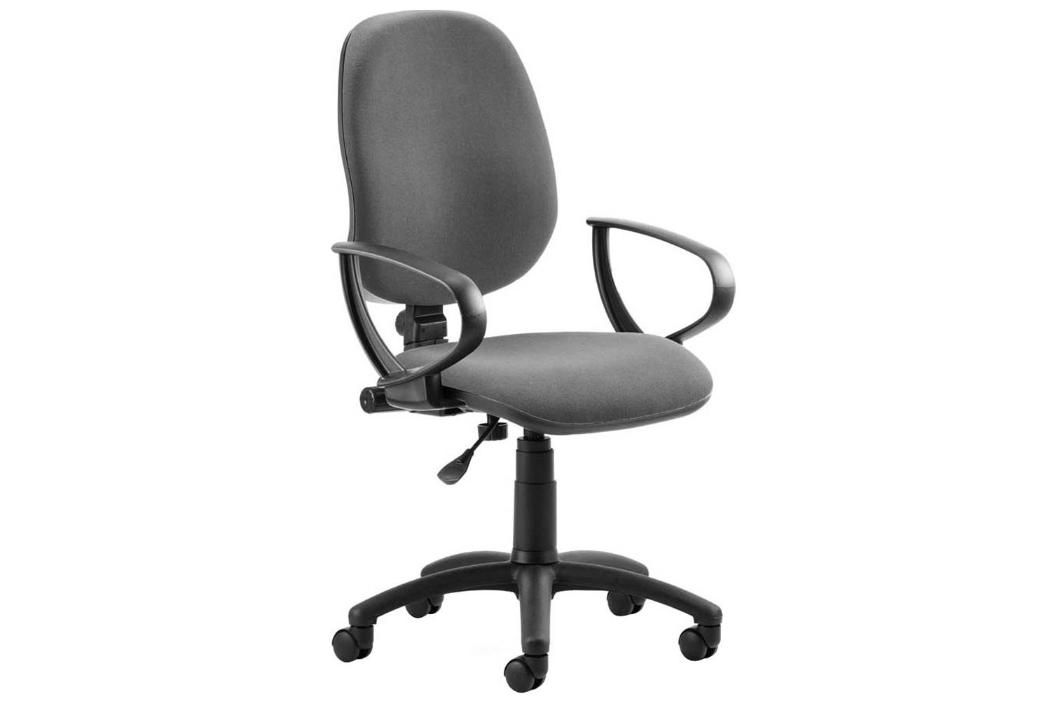 Lunar 1 Lever Operator Chair With Fixed Arms