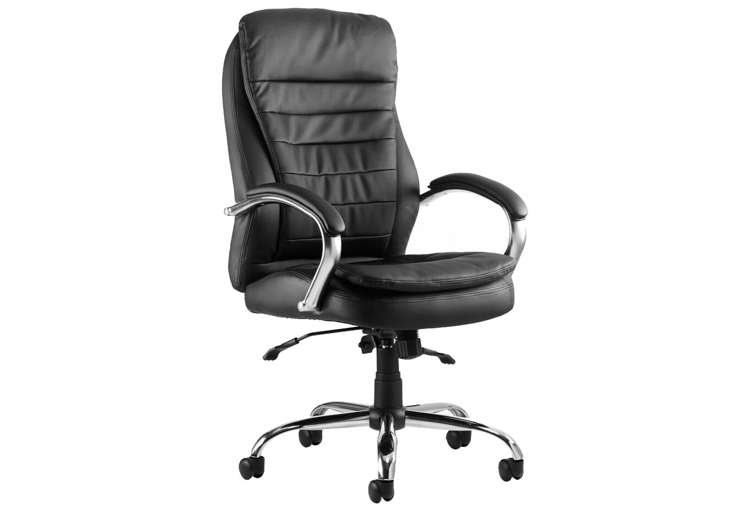 Babel High Back Leather Executive Chair Black