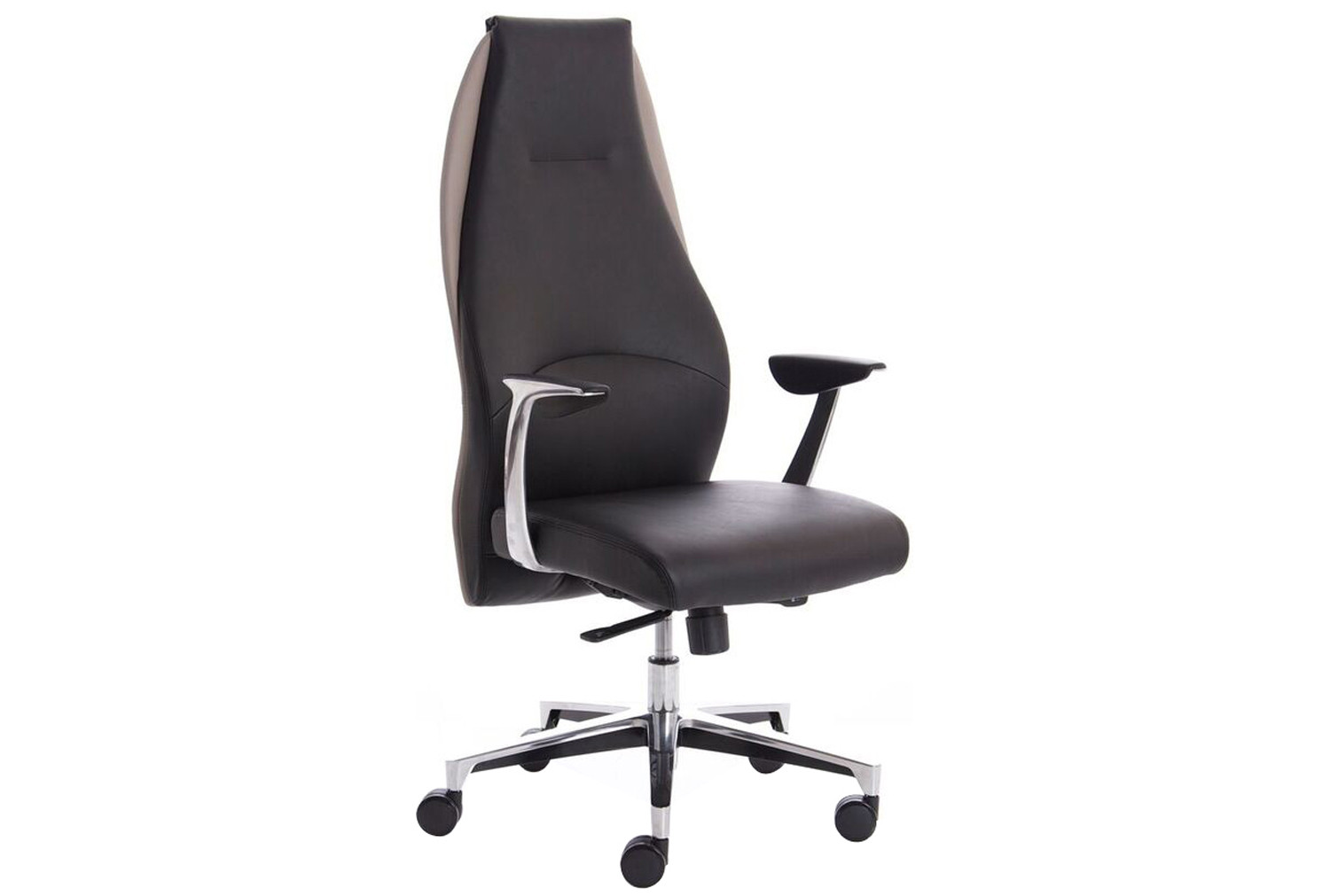 Sauda High Back Executive Chair Black/Mink