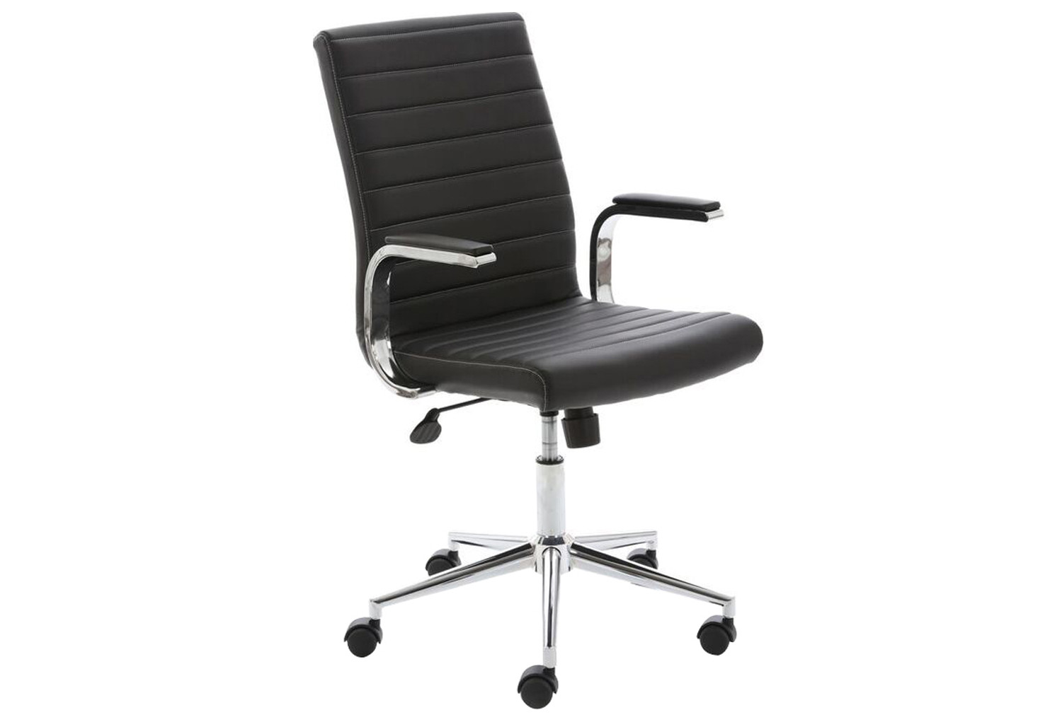 Wexford Executive Bonded Leather Chair (Black)
