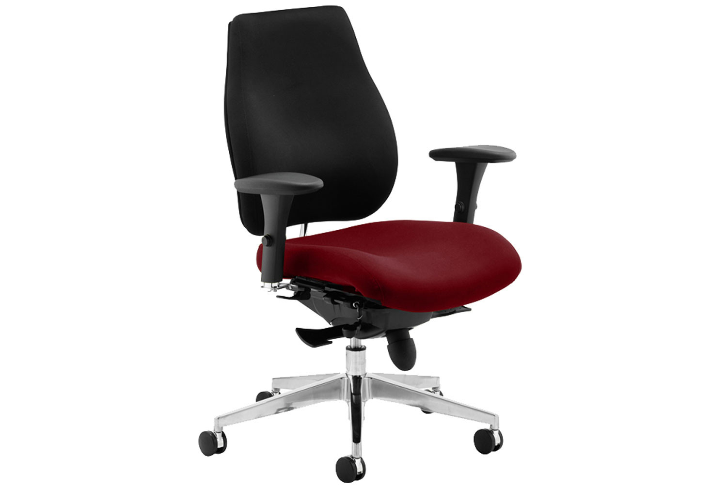 Praktikos Plus Posture Operator Chair Black Back