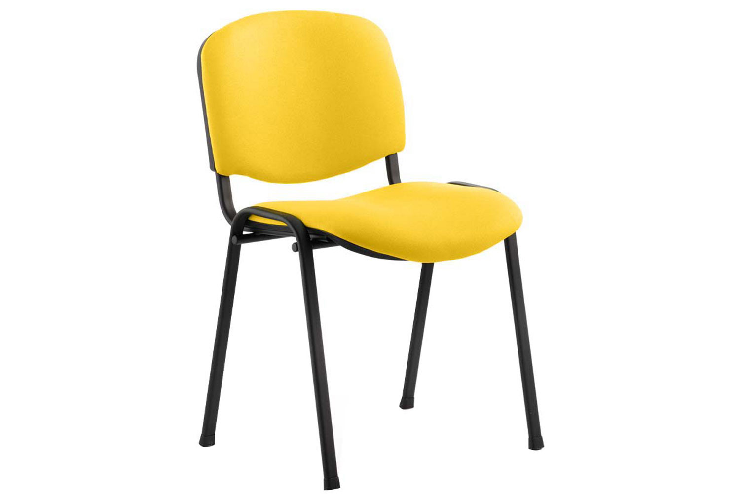 ISO Black Frame Conference Chair (Senna Yellow)