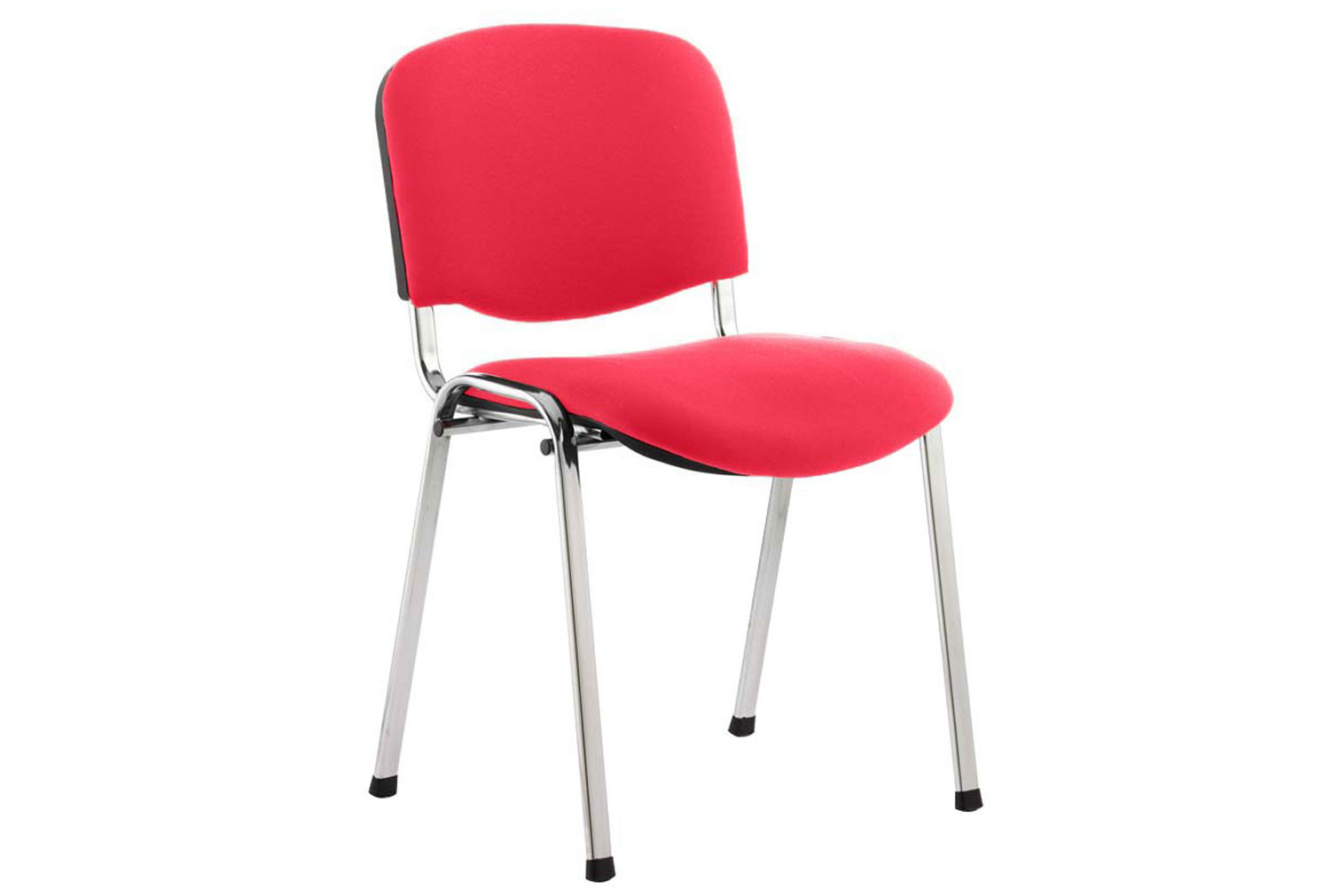 ISO Chrome Frame Conference Chair (Bergamot Cherry)