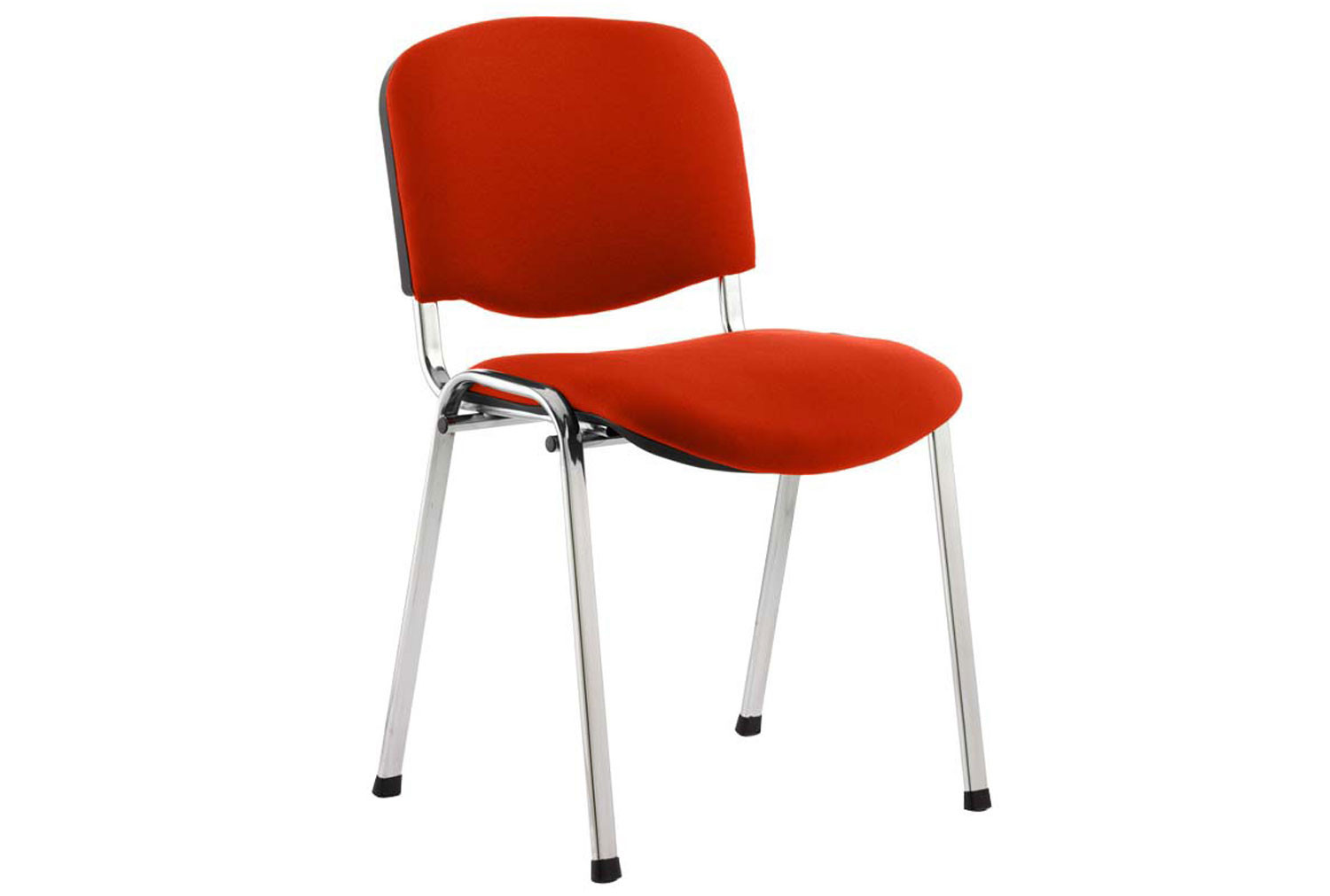 ISO Chrome Frame Conference Chair (Tabasco Red)