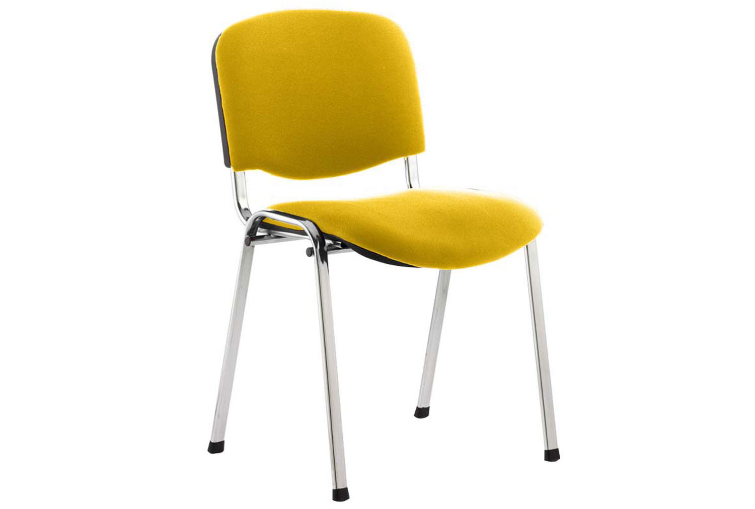 ISO Chrome Frame Conference Chair (Senna Yellow)