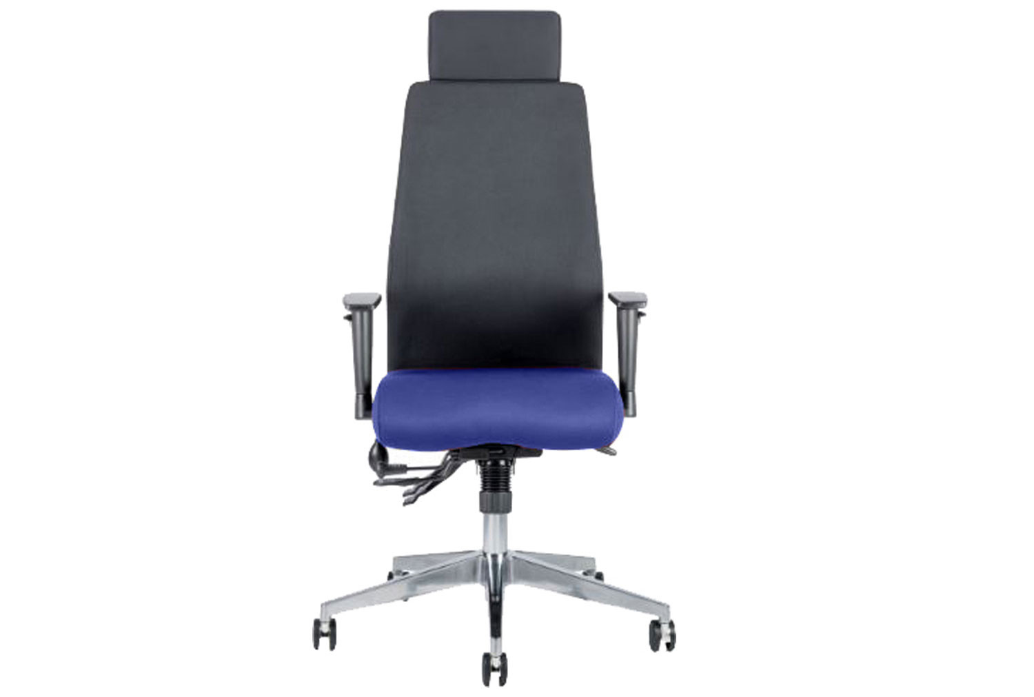 Brechin Executive Operator Chair Black Back With Headrest