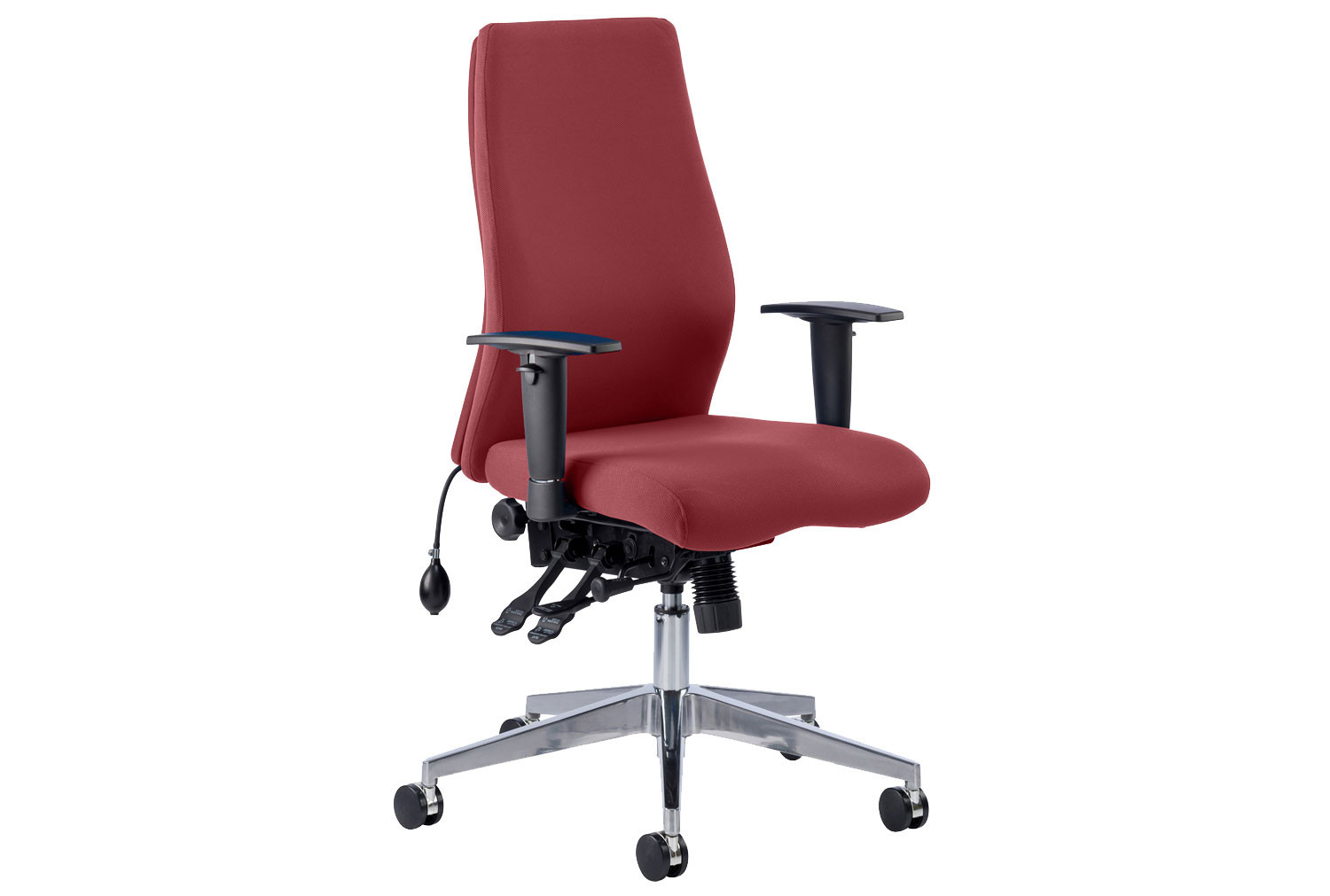 Brechin High Back Fabric Executive Chair