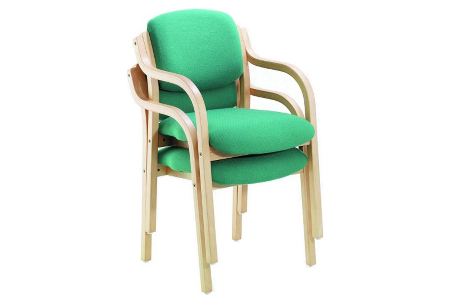 Tulloch Wooden Stacking Armchair