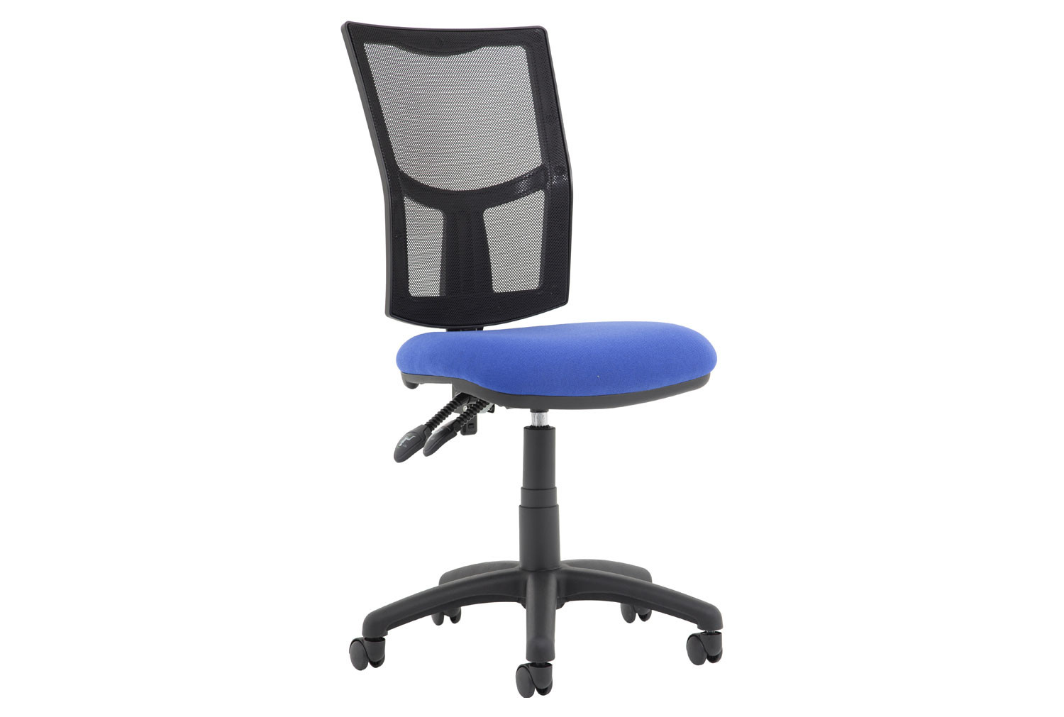 Lunar Plus 2 Lever Mesh Back Operator Chair (No Arms)