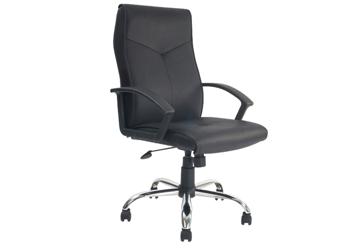 Hartley High Back Executive Leather Faced Chair
