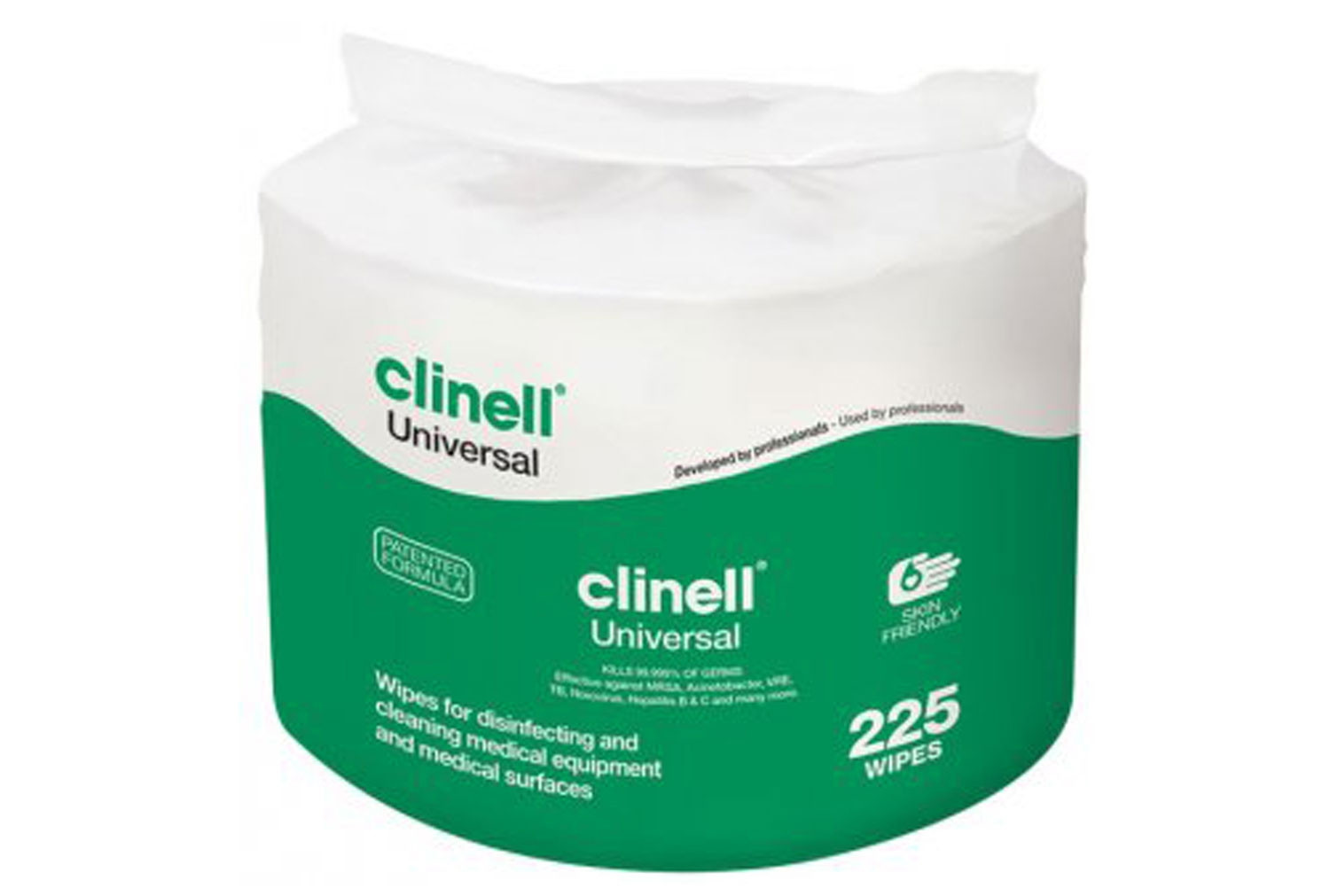 Refill For Bucket Of Clinell Universal Wipes (225 Wipes) - NHS Approved NHSSC VJT192